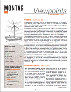 MONTAG Viewpoints Q1 2021 Front Page Icon
