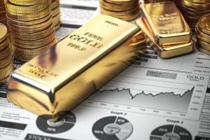 Gold ingots & coins