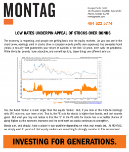 Low rates underpin appeal of stocks over bonds